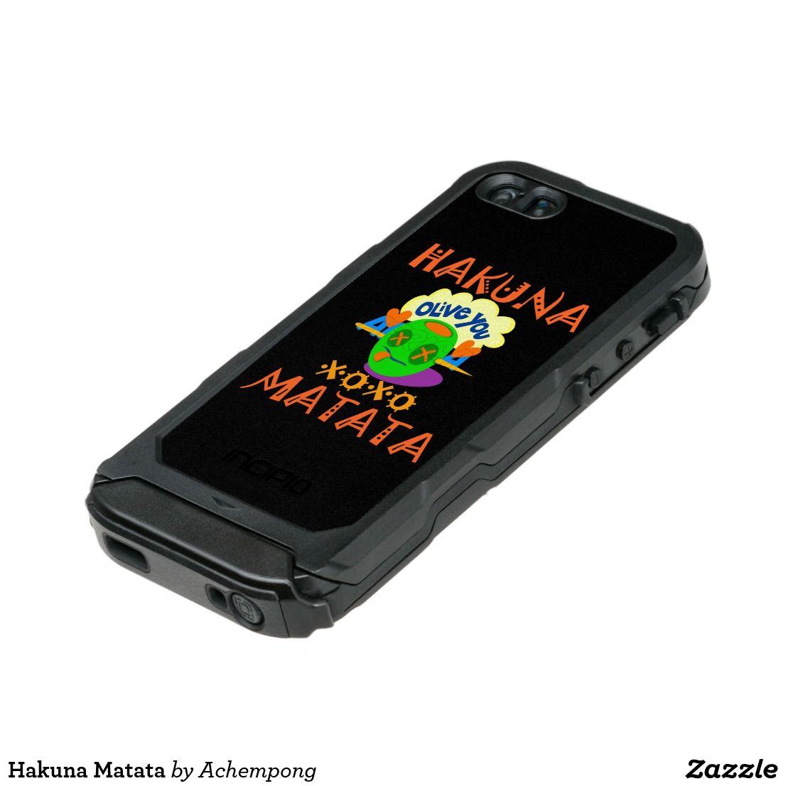Hakuna matata incipio iphone case incipio