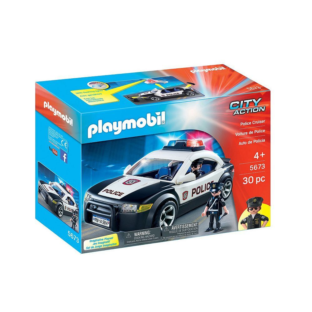 Ghostbusters toys car  Playmobil Police Car   Multicolor  Police cars Playmobil and