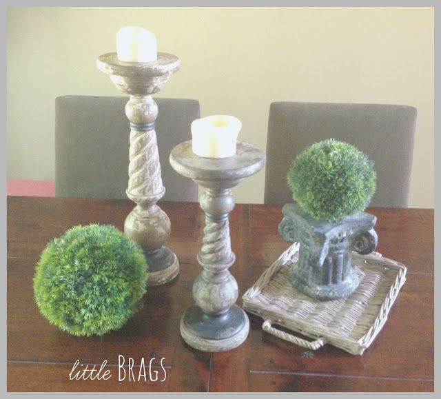 Little Brags: Adding Burlap To My Lamp Shades & Some More Little Bits