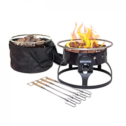 Redwood Fire Pit In 2020 Propane Fire Pit Portable Propane Fire Pit Fire Pit Walmart