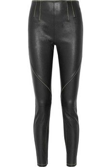 52943fa95738 T by Alexander Wang Stretch-leather leggings