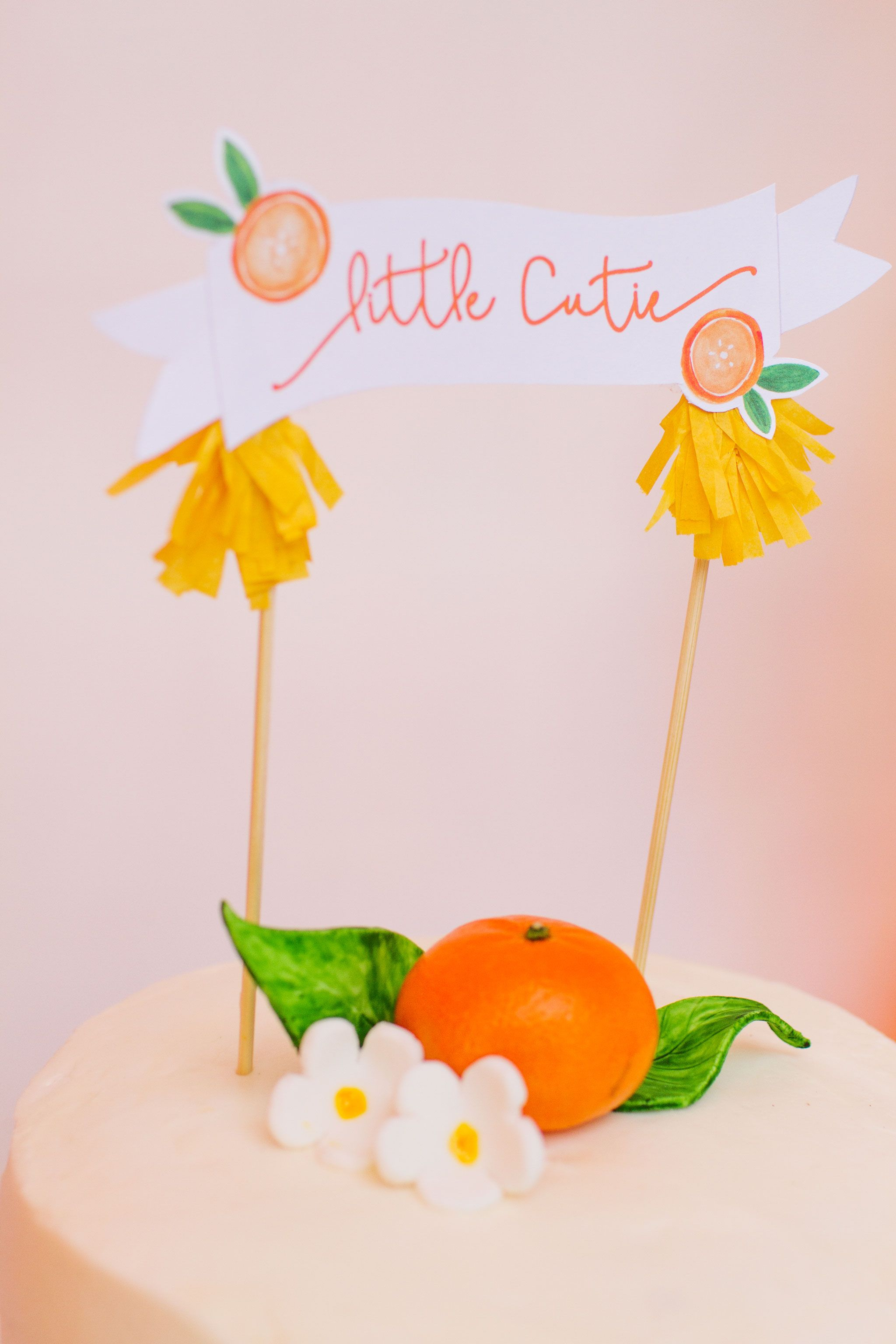 5e8e66b3c6a61 Little Cutie Citrus Baby Shower   {little} parties   Baby shower ...