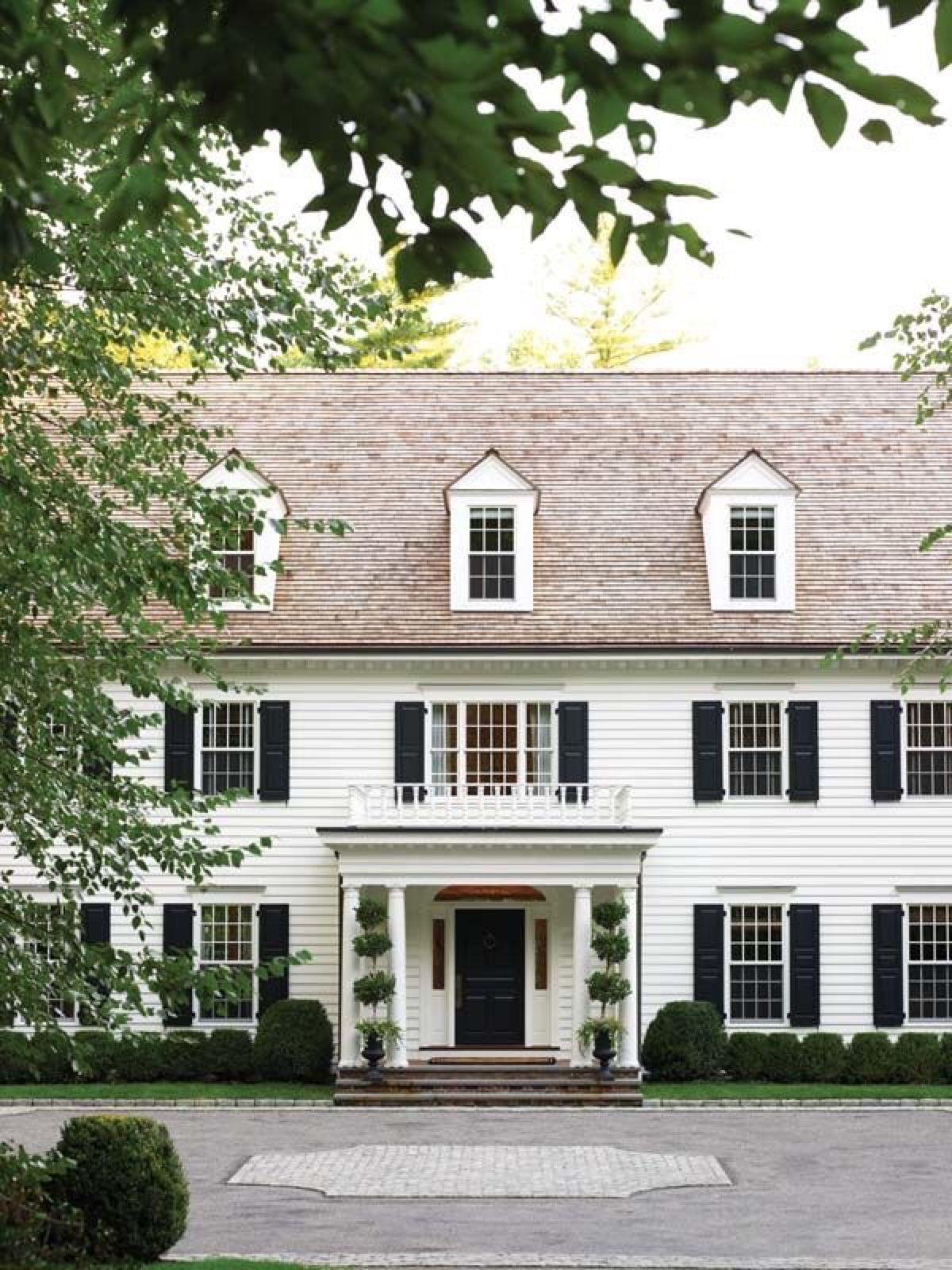 Vineyardshines New England Homes House Exterior Facade House