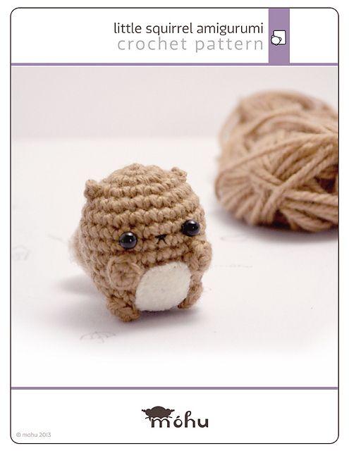 Crochet squirrel amigurumi pattern pattern by mohu   Patrones ...