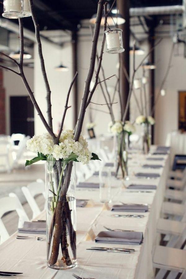 Hochzeitstischdeko - Bei einer Hochzeit muss man ...
