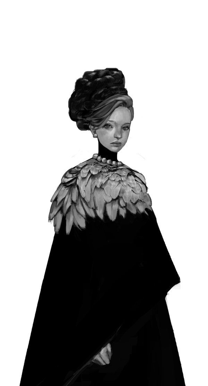Noble, la femme oiseau by Limelissa