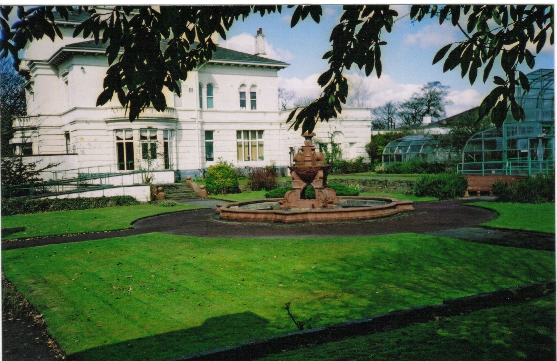 the mansion house victoria park st helens merseyside england