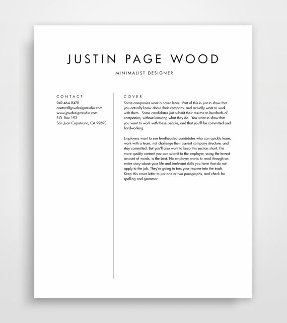 This Is An Editable Resume Template With A Bold Modern Look