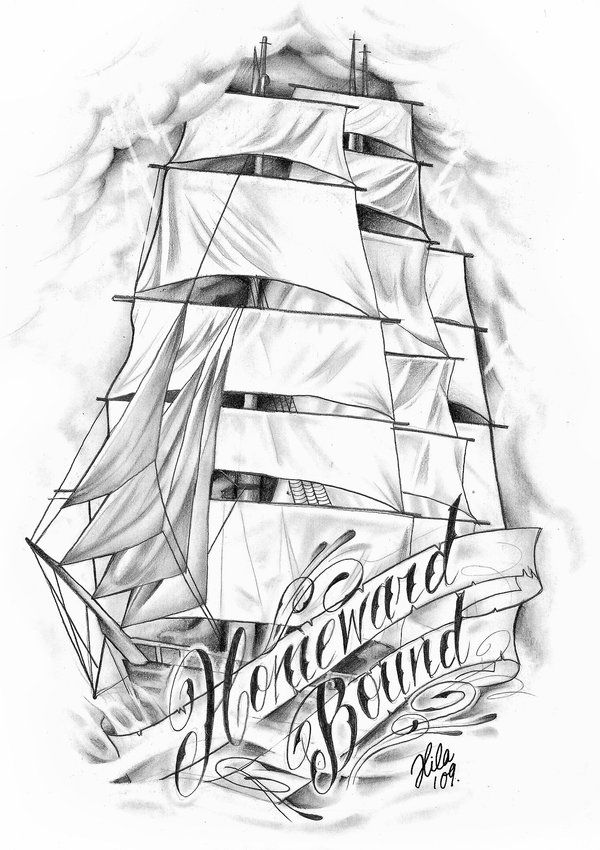 Pirate Clipper Ship by tainted-orchid.deviantart.com on @deviantART