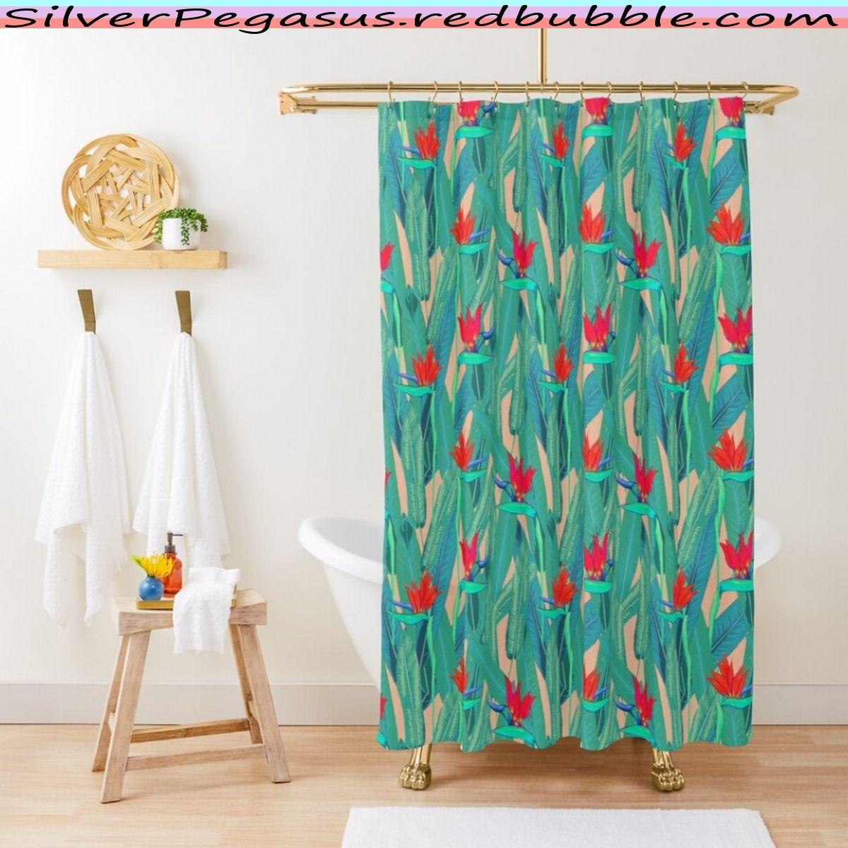 Silverpegasus Redbubble Com Tropical Garden Emerald Blush