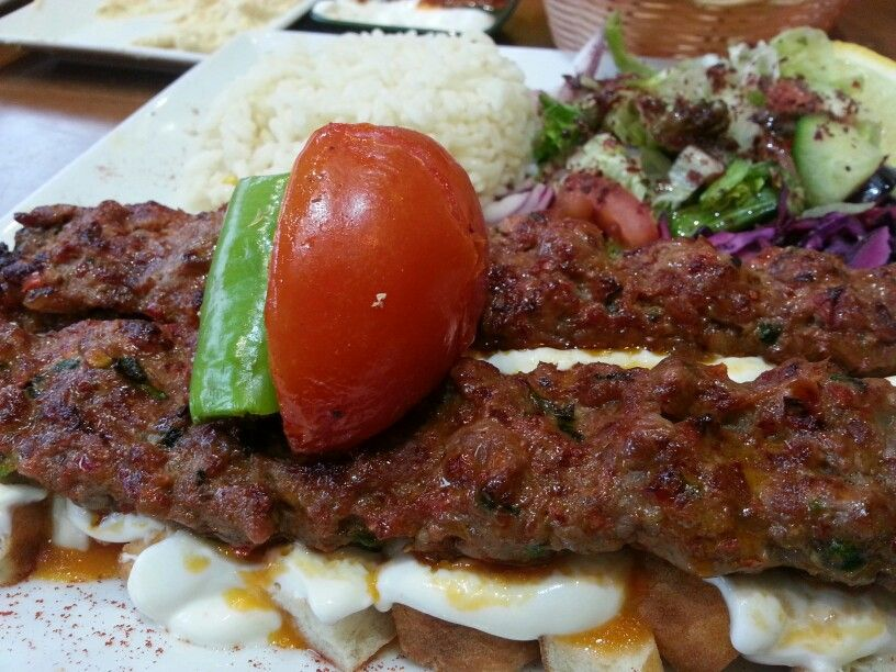 Yoghurt And Lamb Shish Kebab Sultan Bbq Leicester Uk Halal Turkish Halal Recipes Food Shish Kebab