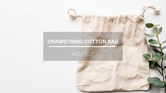Download Free Gift Bag Mockup Cotton Bag Sack Drawstring Bag Flat Lay Psd A Simple Yet Super Realistic Mockup Of A Fl Bag Mockup Free Packaging Mockup Mockup Free Psd