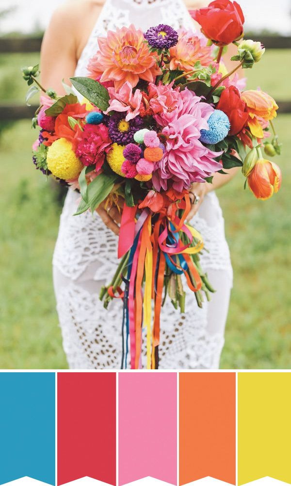 5 Gorgeous Summer Wedding Bouquets How To Create Them