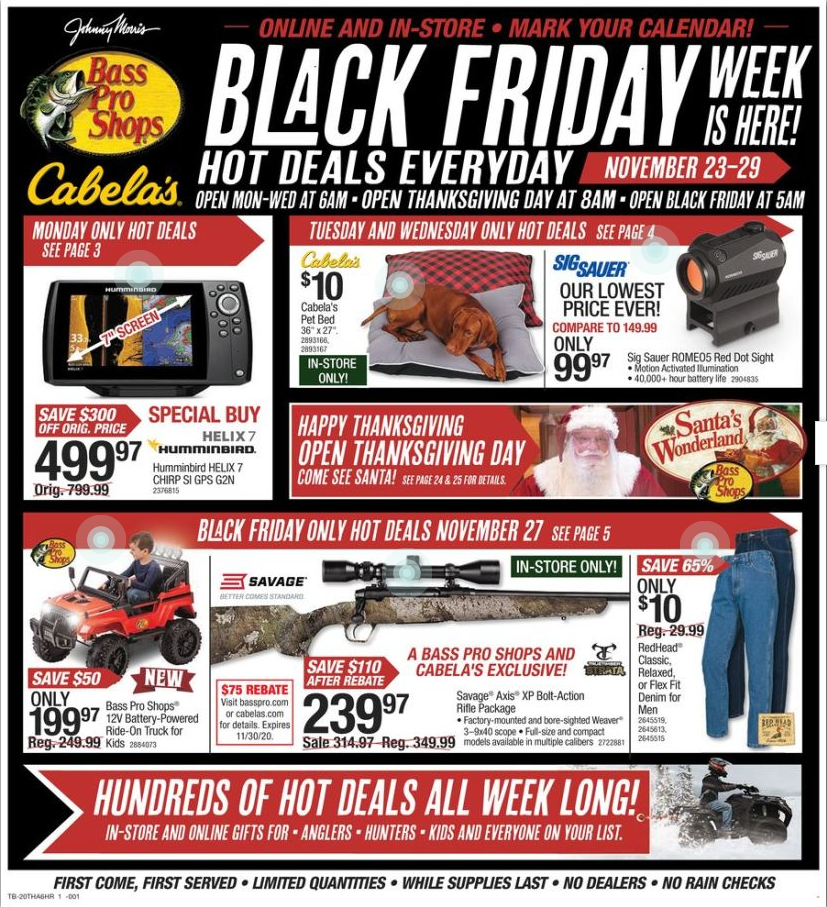 Bass Pro Shop Black Friday 2020 Black Friday Black Friday Ads Black Friday Shopping
