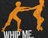 Whip Me roller derby tee