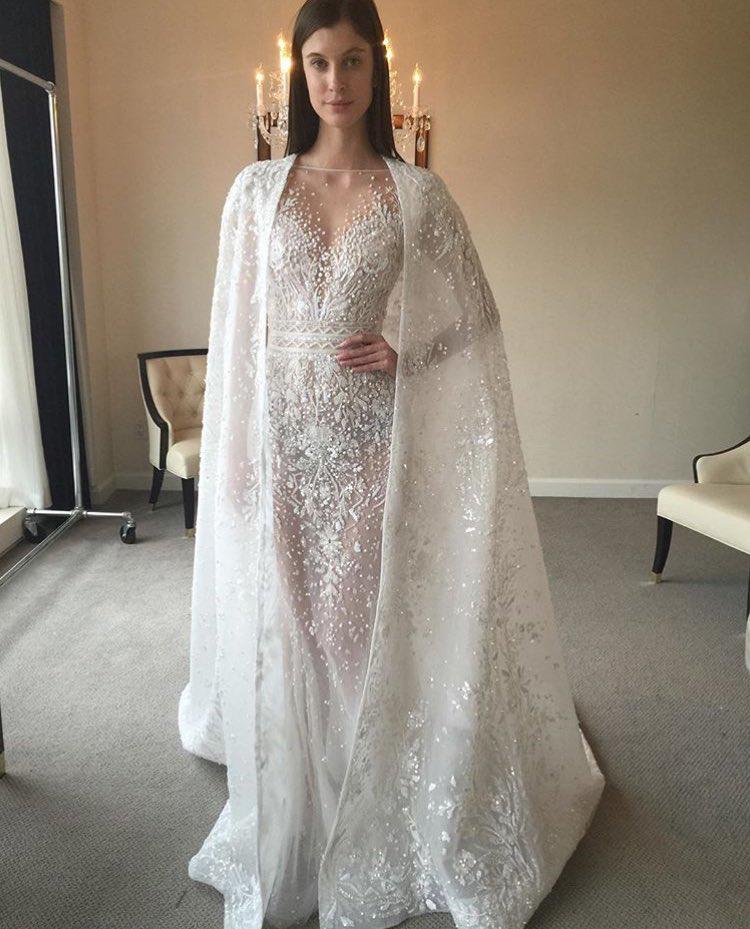 zuhair murad bridal f w17 wedding dress pinterest brautkleid hochzeitskleid und braut. Black Bedroom Furniture Sets. Home Design Ideas