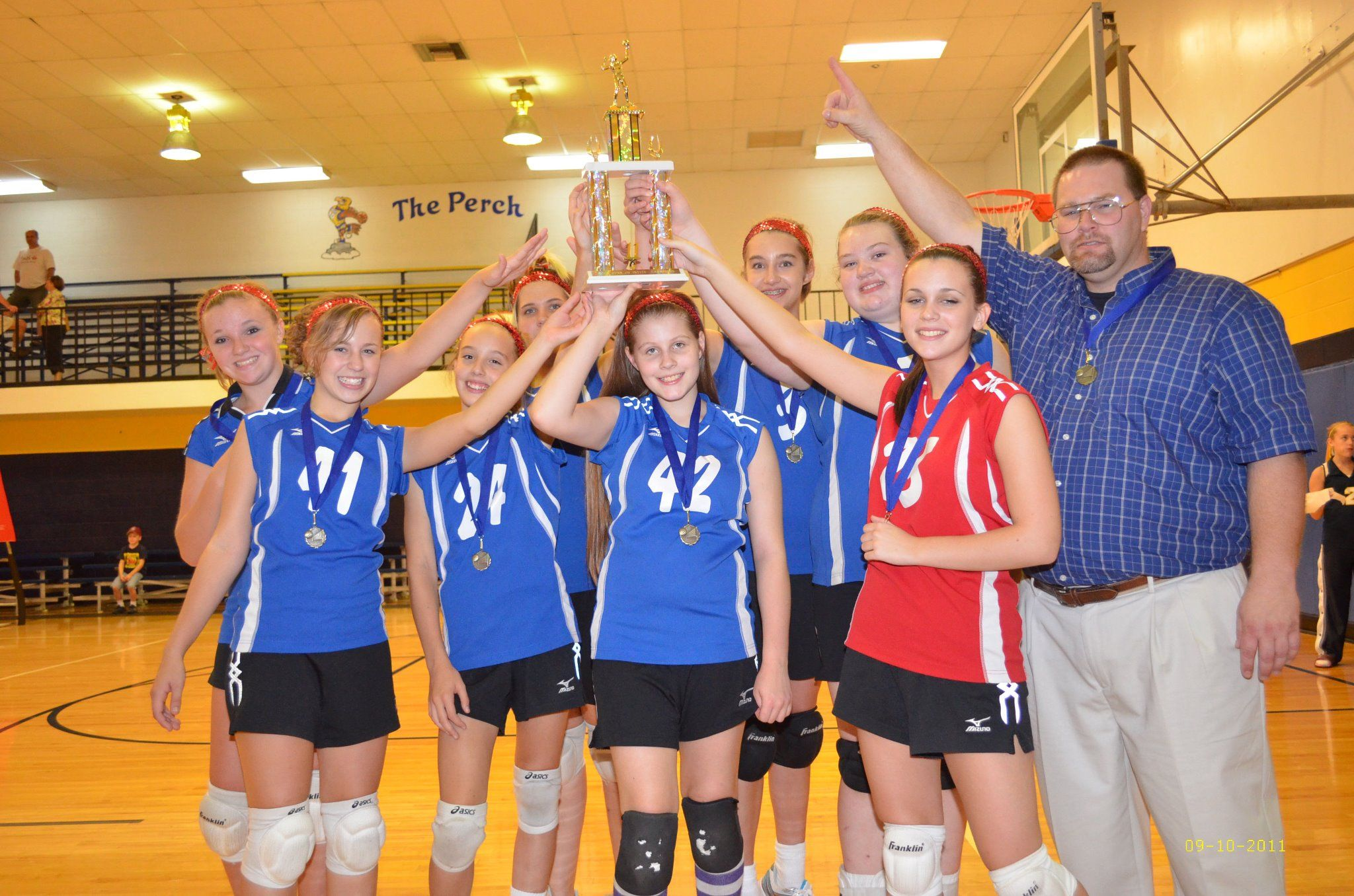 2011 Cprs Tournament Champions Volleyball Team Volleyball Champion