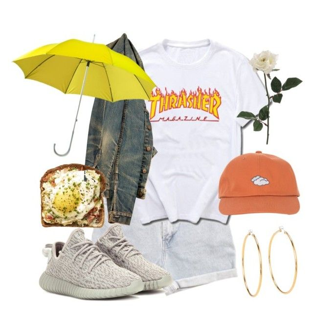 """Sem título #926"" by mariana-almeida-4 ❤ liked on Polyvore featuring Levi's, Juicy Couture and adidas Originals"
