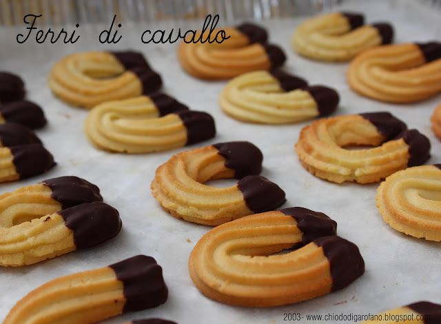 ferri di cavallo #biscuit