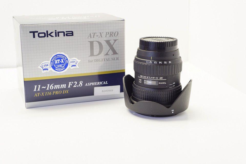 New! Review Tokina AT-X PRO 11-16mm f/2.8 SD MF DX IF AF Lens Nikon ...