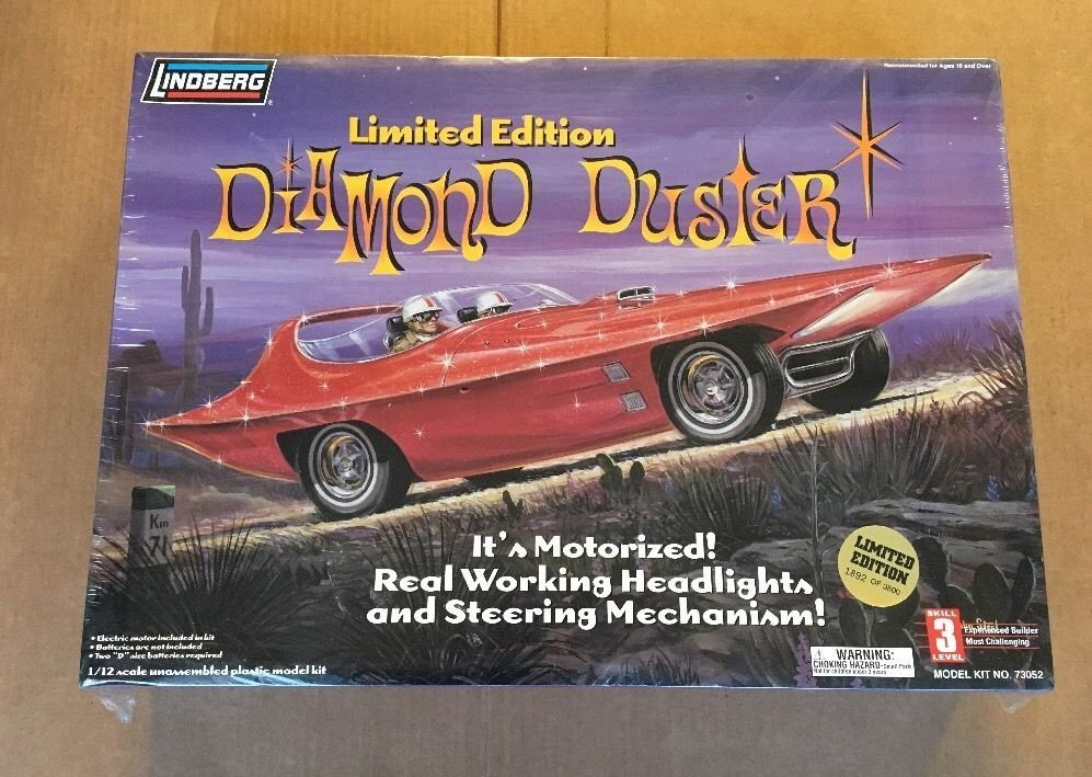 Lindberg Diamond Duster Limited Edition 1 12 Scale Retro Vintage Model SEALED | eBay
