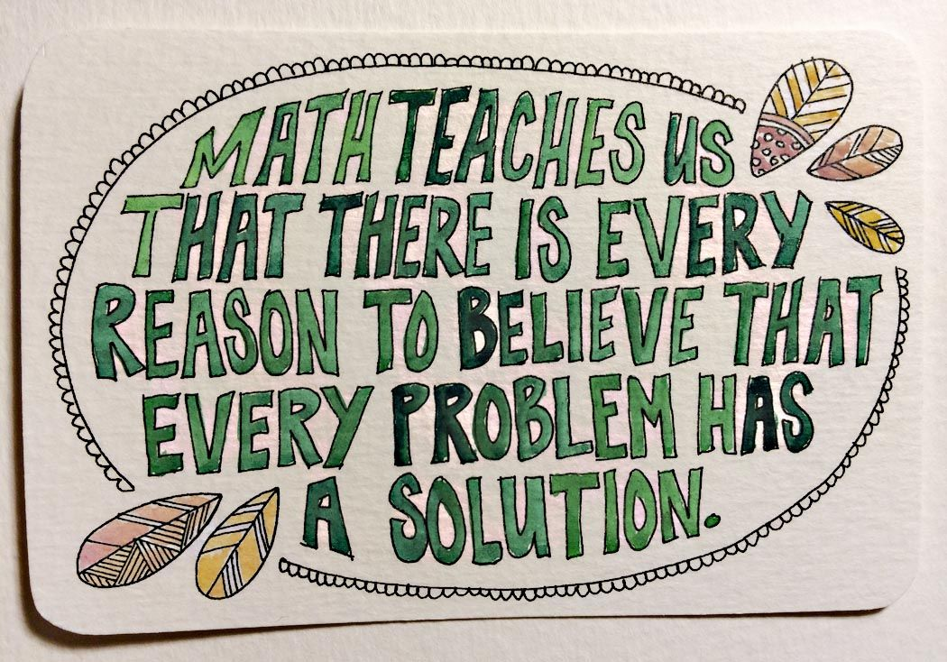 Illustrated Quotes for Co-Workers | Math quotes, Calculus and Math