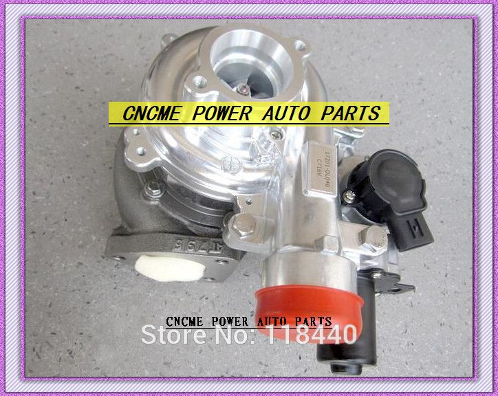 Electric Actuator Turbo Ct16v 17201 0l040 17201 30100 7201 30101