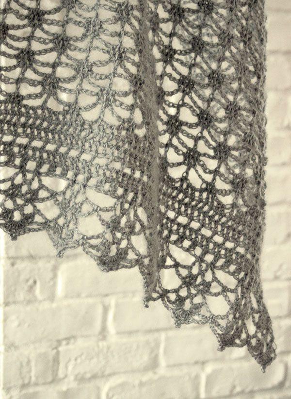 crochet shawl | bufandas-cuellos-chales y ponchos | Pinterest ...
