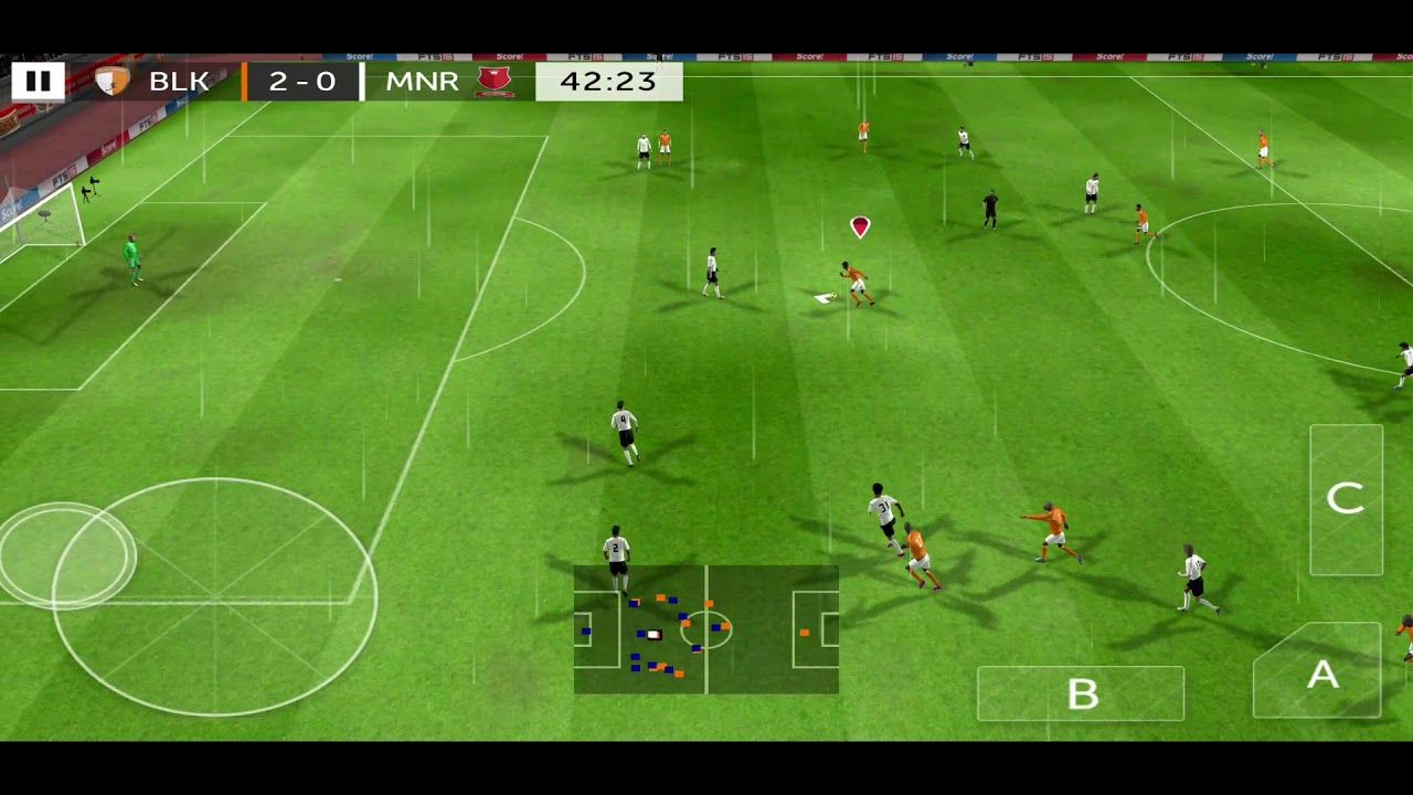 First Touch Soccer 2015 IOSAndroidReviewGameplay