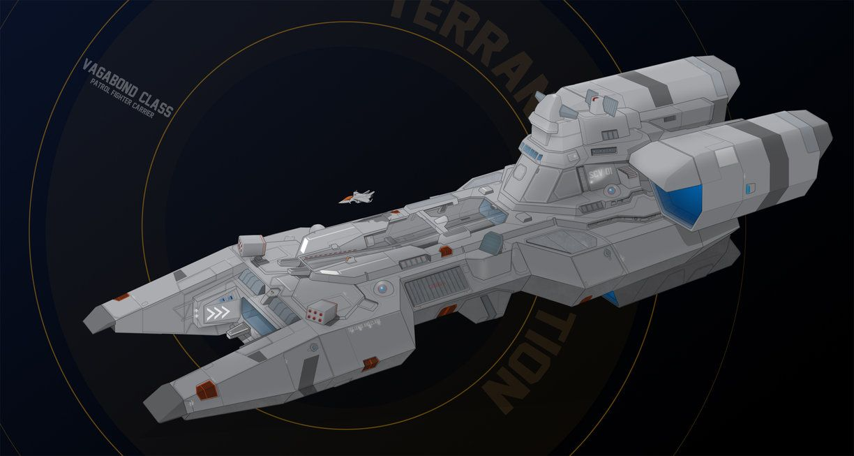 Vagabond Class Patrol Carrier - Commission by HandofManos on DeviantArt
