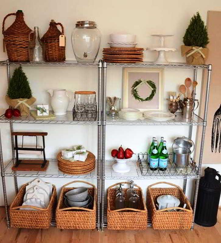 30 Desain Dapur Sederhana Tanpa Kitchen Set Cantik Elegan