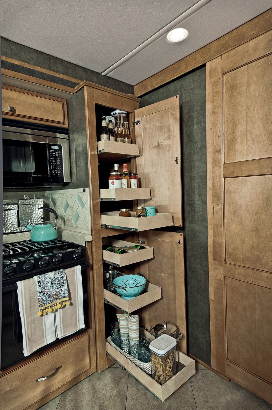 Enthralling Kitchen Pantry Drawer Slides With Heavy Duty Side Mount Metal On Tall Cabinet