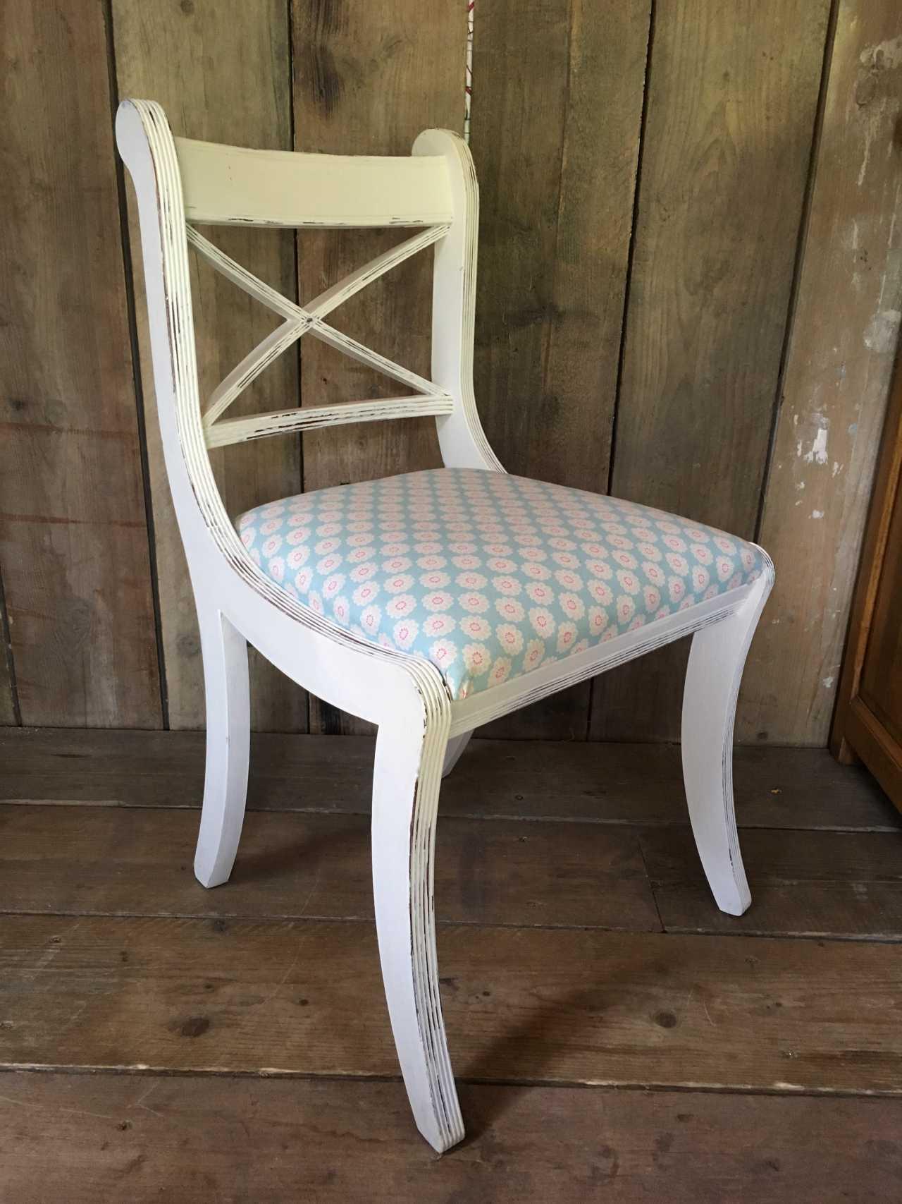 White Painted Shabby Chic Chair Shabby Chic Chairs Chair Shabby Chic