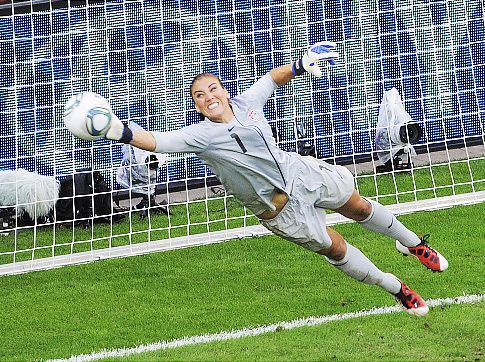 Usa Women S Soccer Shows Guts In Beating Brazil On Anniversary Of 1999 World Cup Win Hope Solo Soccer Usa Soccer Women