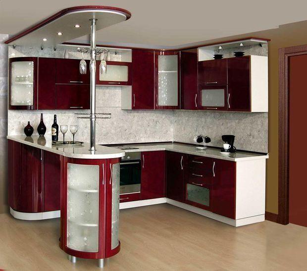 Барная стойка на кухне и в гостиной — стильные иде