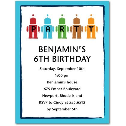 Party machines studio basics birthday party invitations tiny party machines studio basics birthday party invitations tiny prints studio basics tropical filmwisefo Image collections