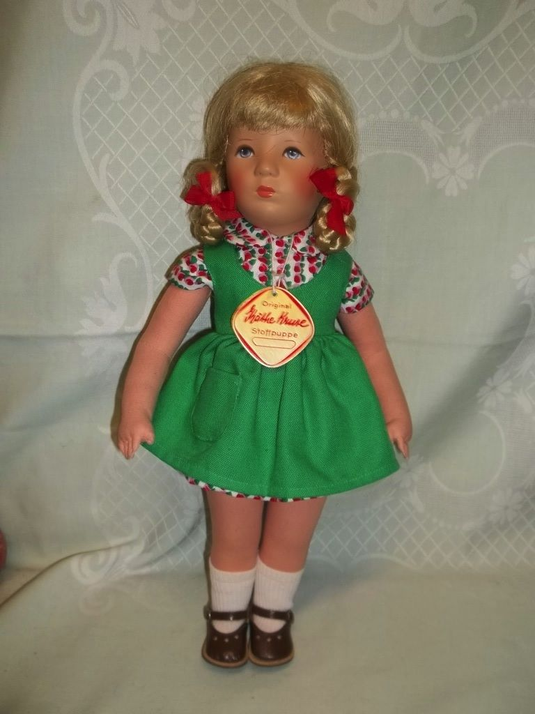 Käthe Kruse Puppe IX- H 37 cm 70er Jahre 5.September 1973 | eBay