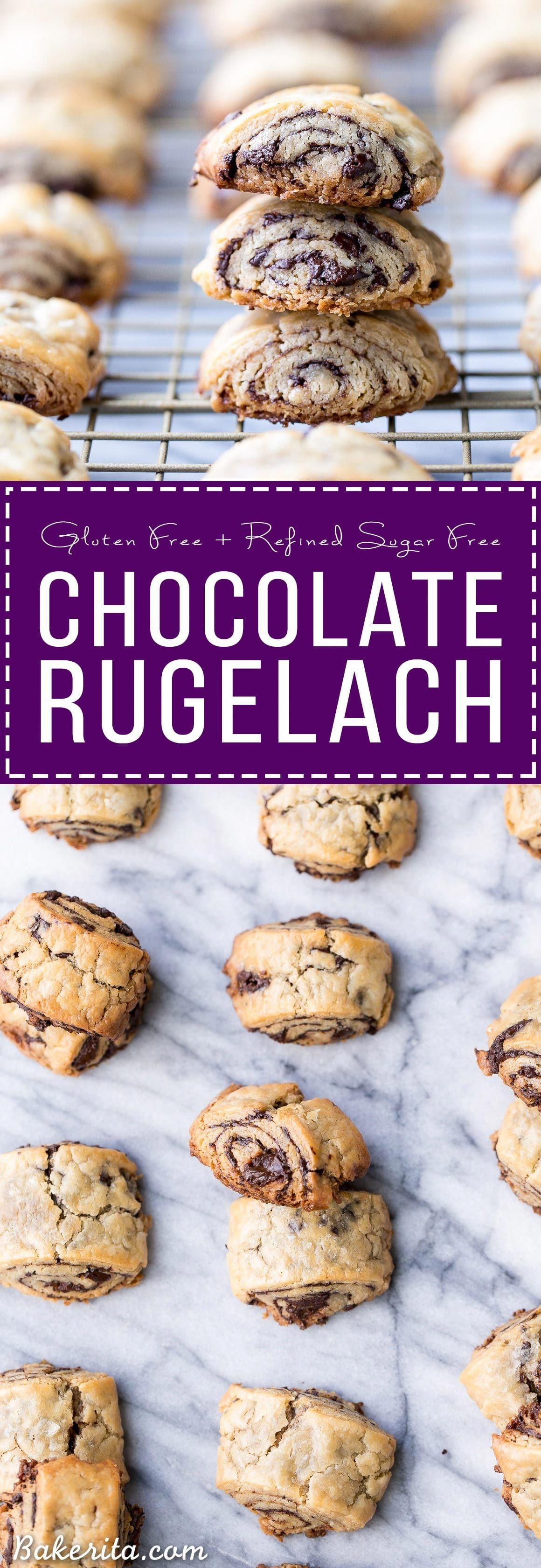 Photo of These Chocolate Rugelach are incredibly tender and flaky, thanks to the cream ch…