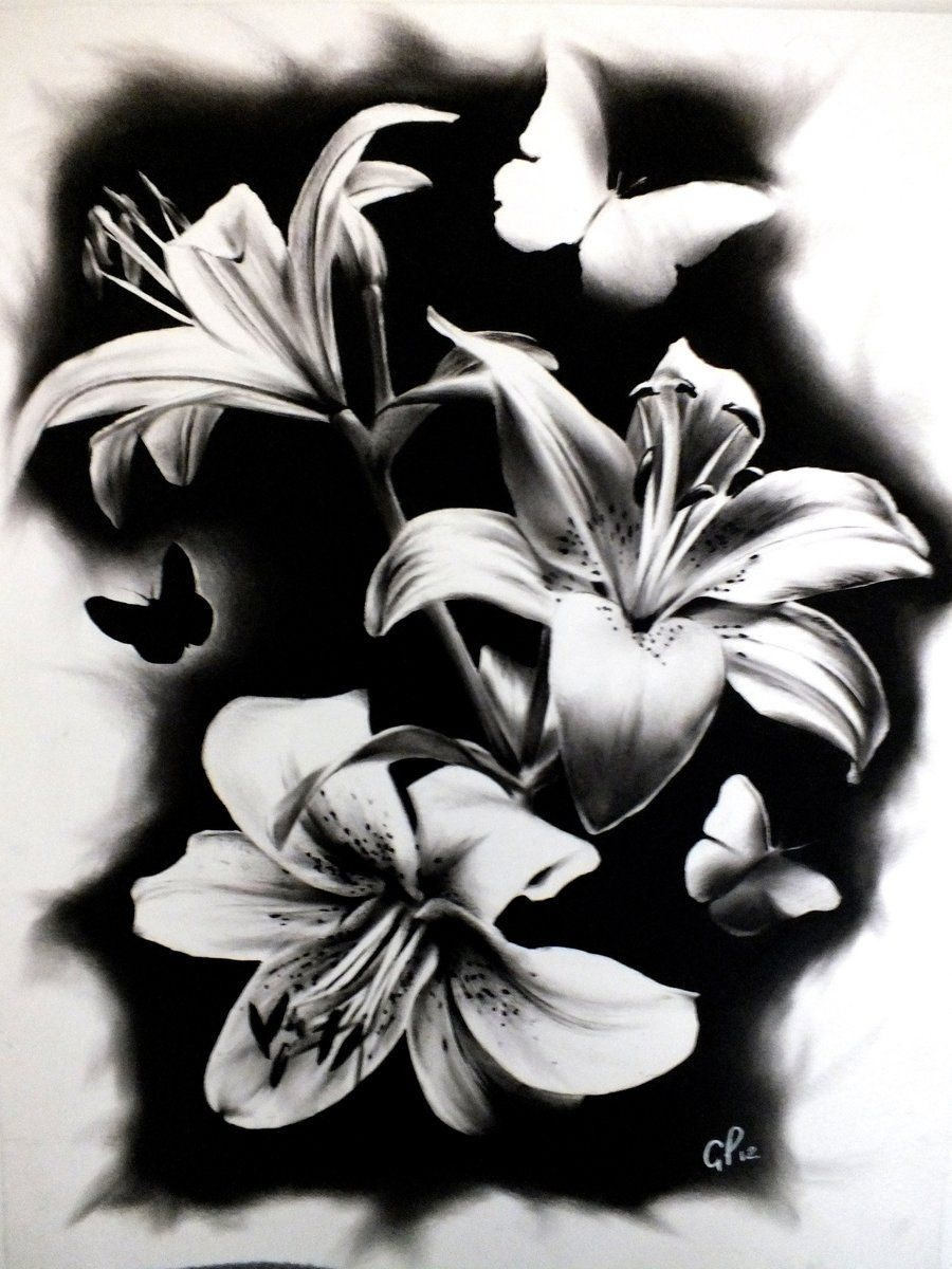 Lillies by gpreece.deviantart.com on @DeviantArt
