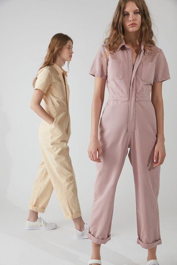 UO Canvas Flight Jumpsuit in 2020   Clothes, Fashion, Jumpsuit