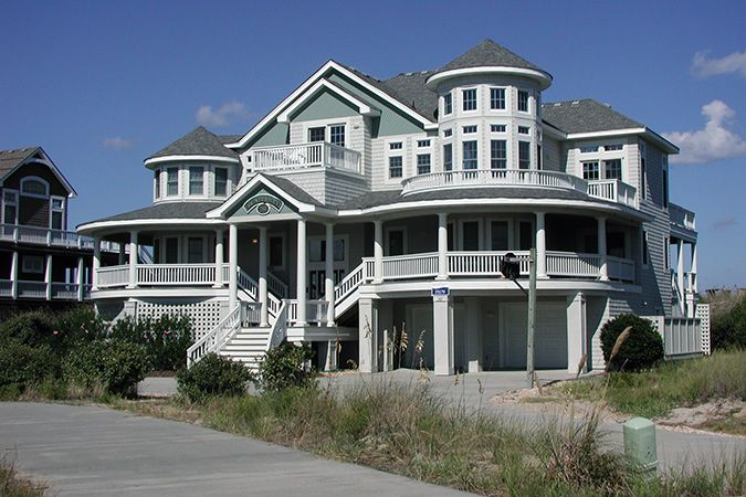 Beach House Al Outer Banks Nc Counterpoint Pine Island Oceanfront Obx Sleeps 21r