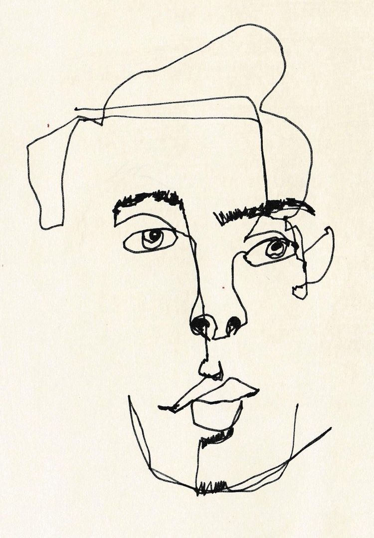 Contour Line Drawings Famous : Continuous contour line drawing imgkid the