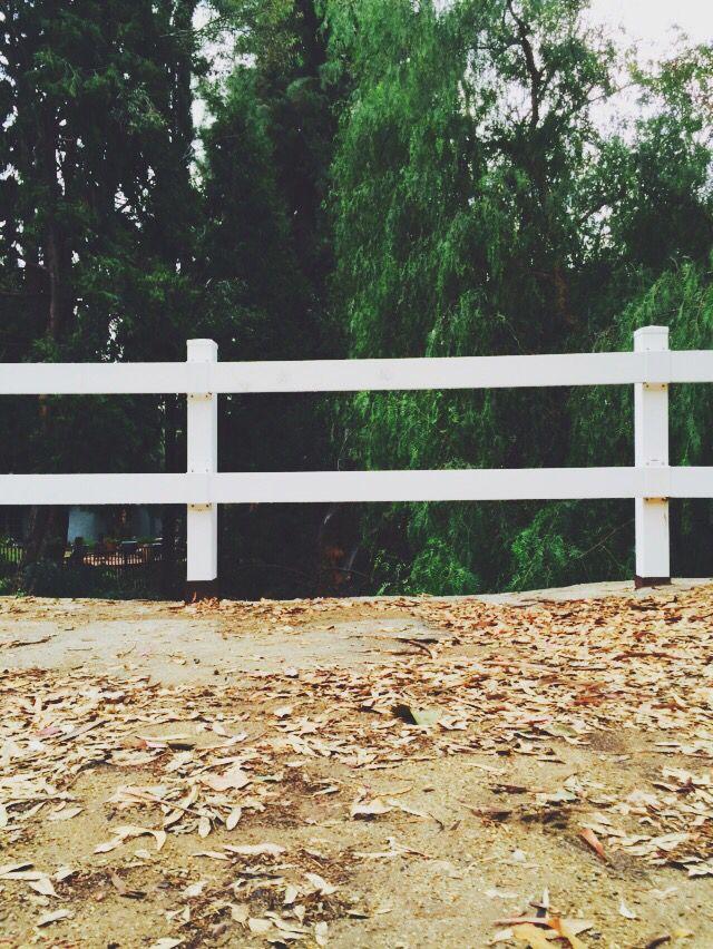 Little white fences