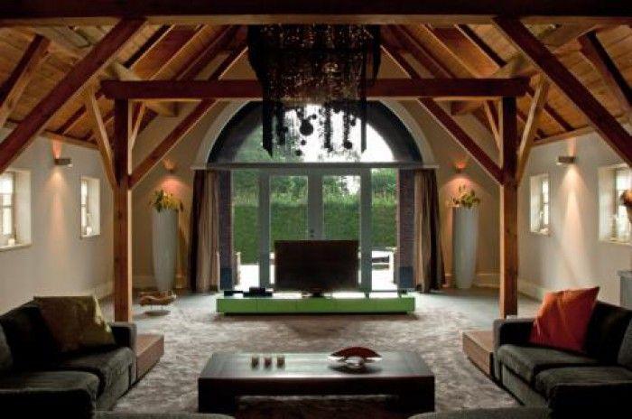Oude boerderij met modern interieur interior for Boerderij interieur