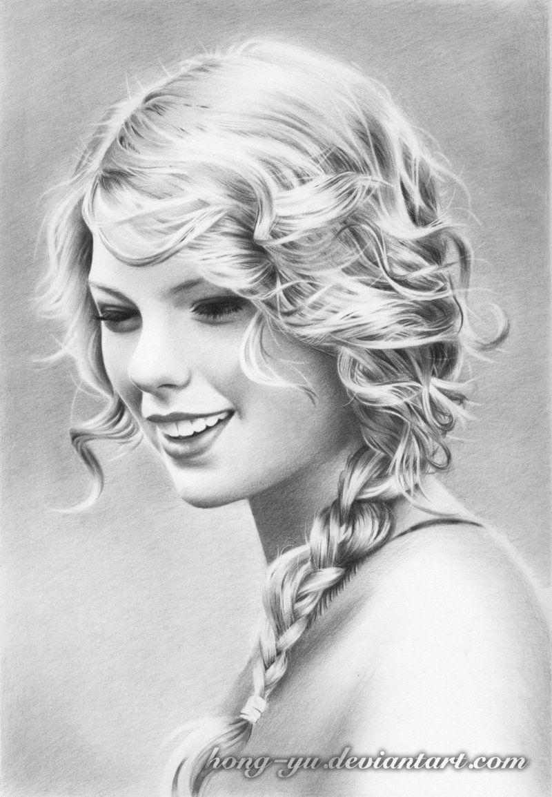 Taylor Swift   ART   Pinterest   Rostros humanos, Dibujos geniales y ...