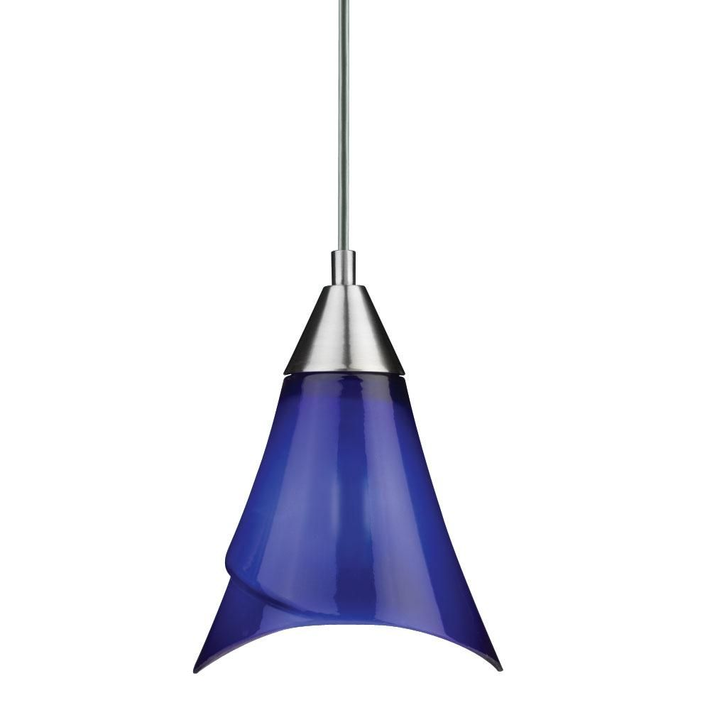 Cobalt Blue Pendant Light Fixtures Blue Pendant Light
