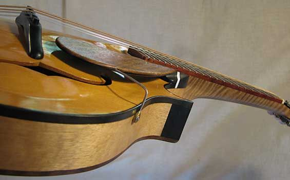 F-5 Mandolin - King Billy Pine top - hand built by Rob Grant