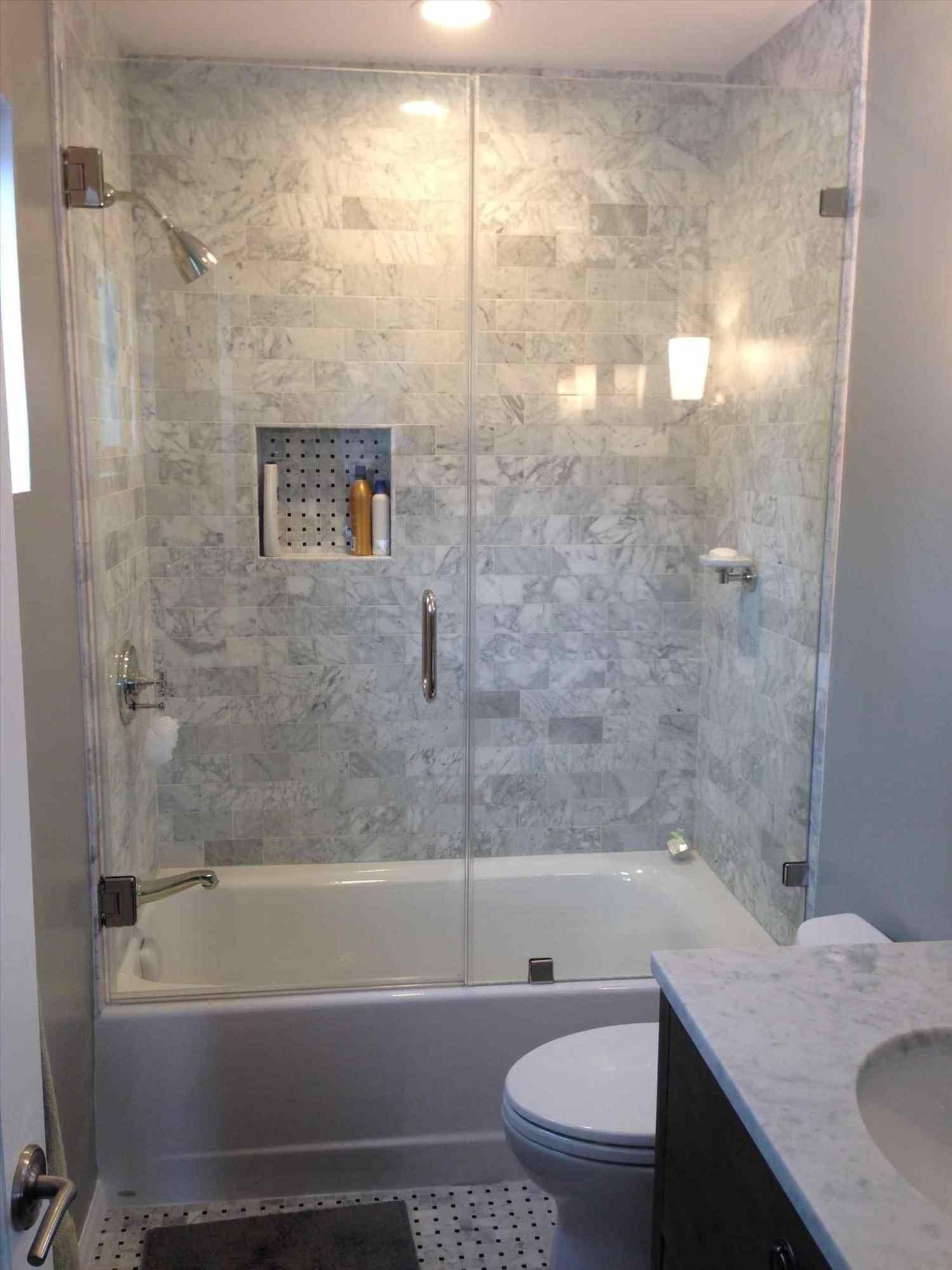 Tiles Gray Shower Tile Grey For A Refined Feel Matters Pinterest Bathroom Remodel Shower Bathroom Tub Shower Combo Bathroom Design Small