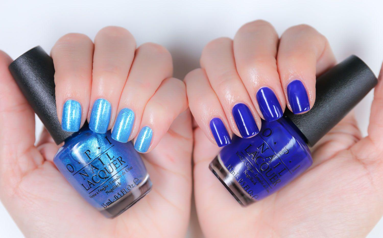 OPI neon gradient nails - Nail Lacquer UK
