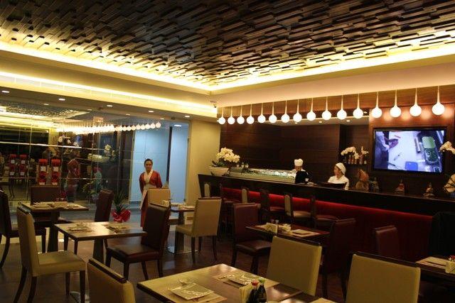 Live Cooking Anese Cuisine At Tokyo Lebanon Restaurant Interior Design Sushi